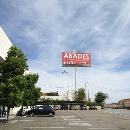 Photo taken at Abades Puerta de Andalucía by LV on 9/1/2012