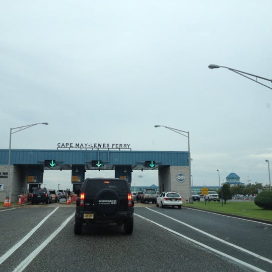Photo taken at Cape May-Lewes Ferry | Cape May Terminal by 🌴ravis P. on 8/25/2012