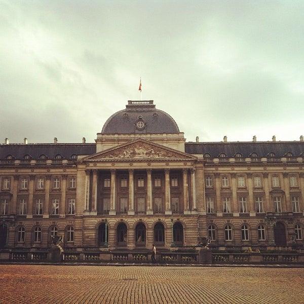 Photo taken at Paleizenplein / Place des Palais by Dyami S. on 4/11/2012
