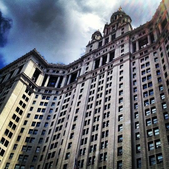 Photo taken at NYC Municipal Building by Nikki N. on 6/7/2012