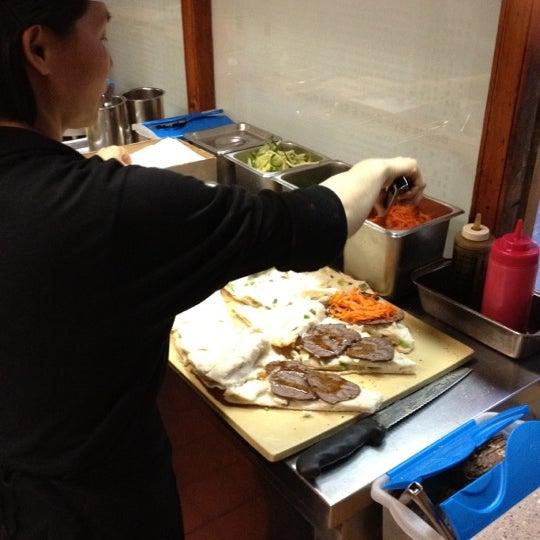 Photo taken at Vanessa's Dumpling House by Paul L. on 5/15/2012