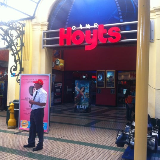 Photo taken at Cine Hoyts by Santiago F. on 2/11/2012
