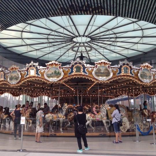 Photo taken at Jane's Carousel by Raven K. on 8/17/2012