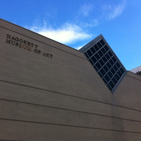 Photo taken at Haggerty Museum of Art by Mykl N. on 4/5/2011