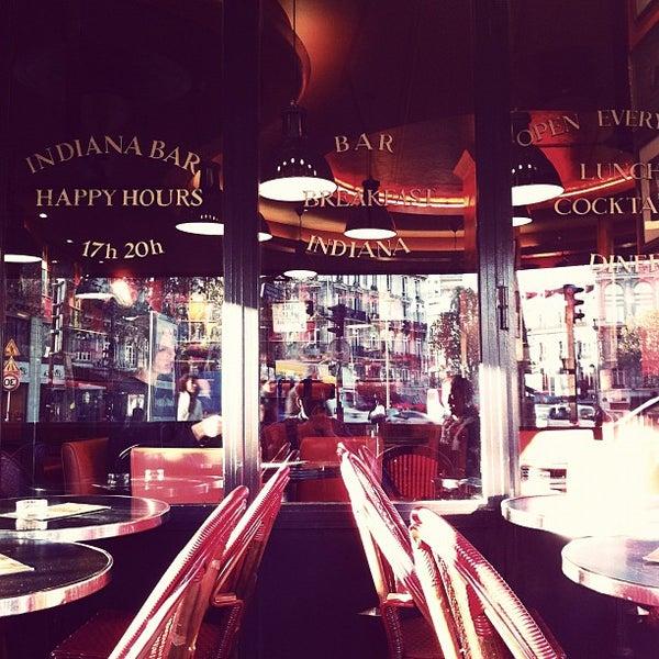 Photo taken at Indiana Café – République by satoshi k. on 11/4/2011