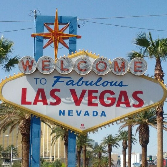 Photo taken at Welcome To Fabulous Las Vegas Sign by Patrick K. on 5/2/2012