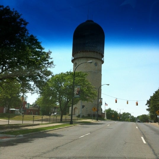 Photo taken at Ypsilanti Water Tower by Jeff S. on 5/20/2012