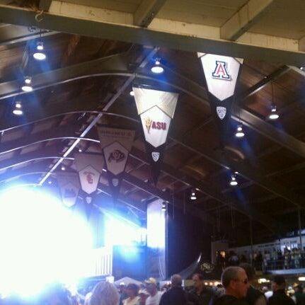 Photo taken at Balch Fieldhouse by Darcie B. on 10/22/2011