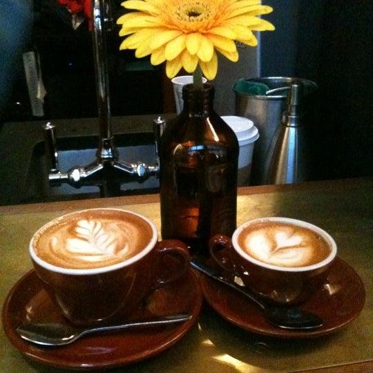 Photo taken at Stumptown Coffee Roasters by Christina M. on 11/12/2011