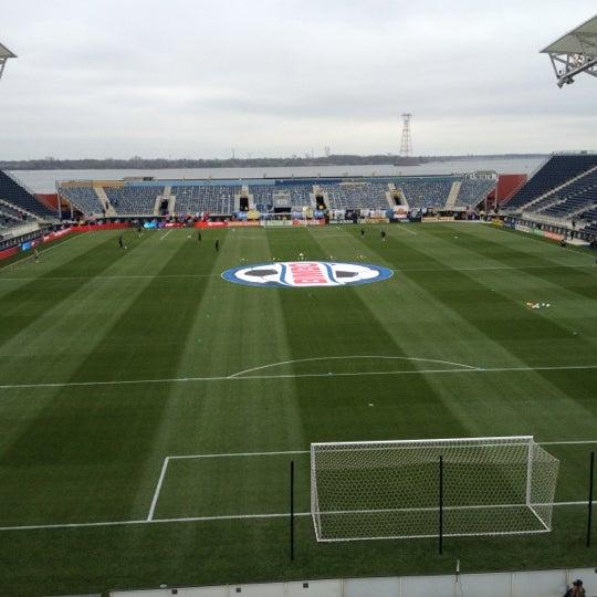 Photo taken at Talen Energy Stadium by Seta M. on 3/31/2012