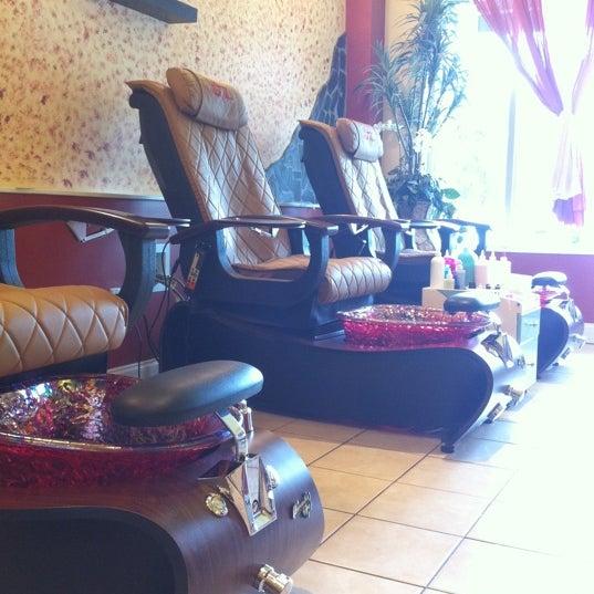 Photos at Luxury Nail Spa - 2816 Erwin Rd