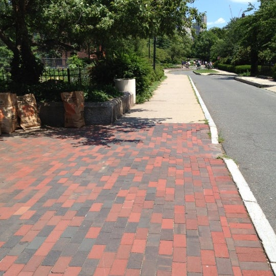 Photo taken at SW Corridor Park - Back Bay by Amy P. on 7/1/2012