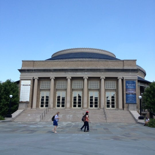 Photo taken at Bailey Hall by Jae J. on 8/24/2012