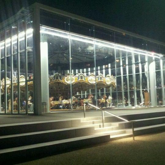 Photo taken at Jane's Carousel by Steve P. on 10/9/2011