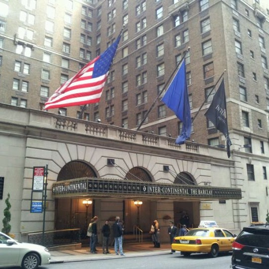 Photo taken at InterContinental New York Barclay by Han B. on 11/14/2011