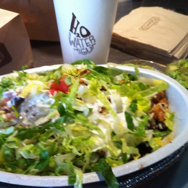 Photo taken at Chipotle Mexican Grill by Jack M. on 1/30/2012