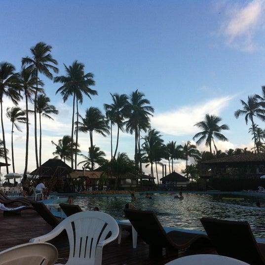 Foto tirada no(a) Cana Brava Resort por Giovanna C. em 12/28/2011
