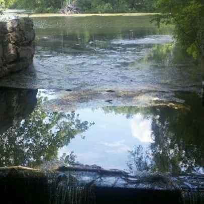 Photo taken at Mine Falls Park by John S. on 7/15/2011