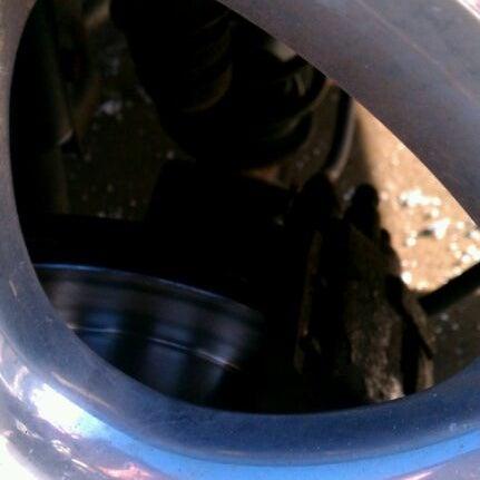 Photo taken at Belle Tire by Nina K. on 1/18/2012