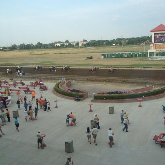 Photo taken at Prairie Meadows by Taryn M. on 7/13/2012