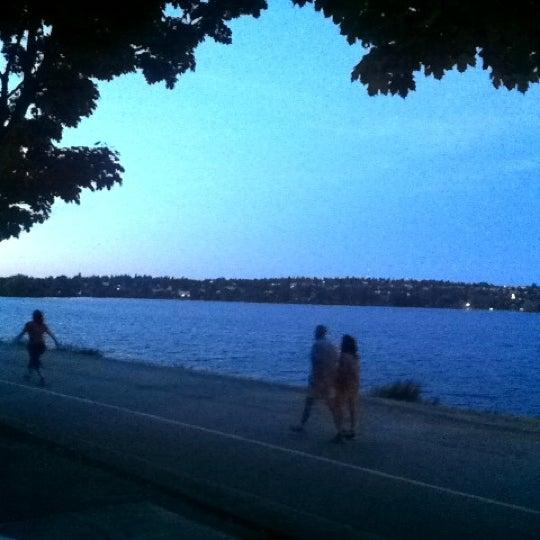 Photo taken at Green Lake Boathouse by Erik B. on 9/6/2012