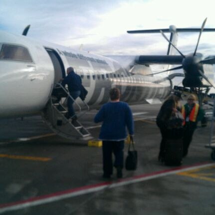 Photo taken at Aspen/Pitkin County Airport (ASE) by Paul M. on 1/18/2012