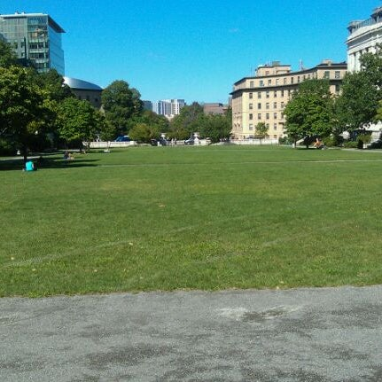 Photo taken at Harvard Medical School Quadrangle by Kristen L. on 8/22/2011