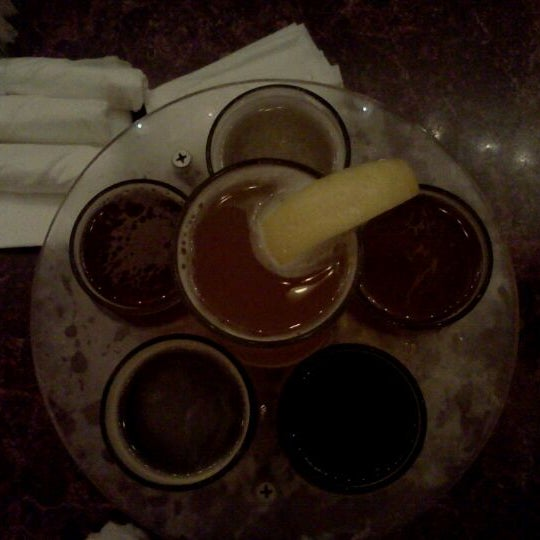 Photo taken at San Pedro Brewing Company by Alma on 9/2/2011