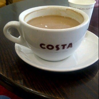 Photo taken at Costa Coffee by missChicago on 7/11/2012