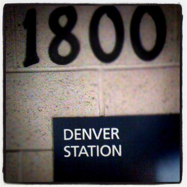 Photo taken at Denver Amtrak (DEN) by Jerome S. on 10/29/2011