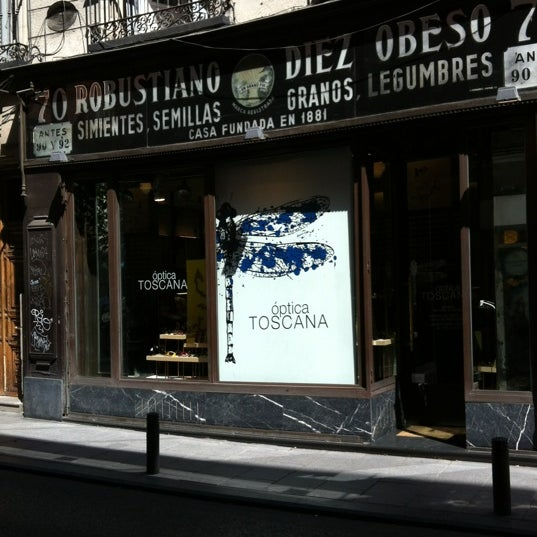 Optica toscana miscellaneous shop in madrid - Optica toscana madrid ...