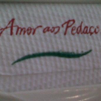 Photo taken at Amor aos Pedaços by Christina L. on 12/11/2011