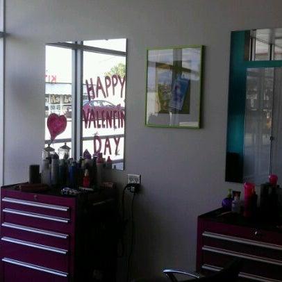 Photo taken at Bang Hair Salon by Maggie G. on 2/16/2012