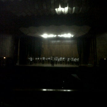 Photo taken at Philam Life Center for Arts by Richard Raymond U. on 1/23/2012