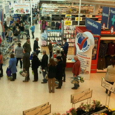 Photo taken at Tesco by belle on 3/5/2011