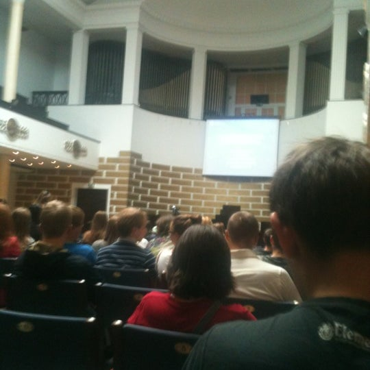 Photo taken at University of Latvia by Denis K. on 8/30/2012