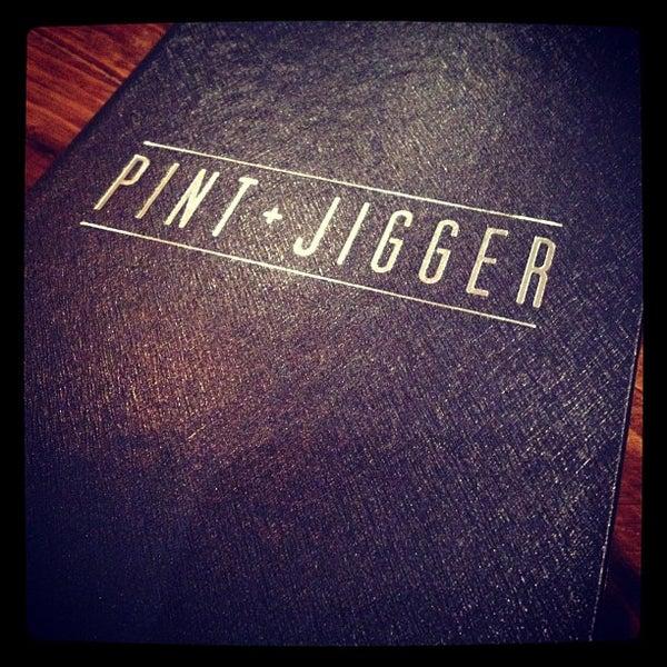 Photo taken at Pint + Jigger by streetgrindz on 6/5/2012
