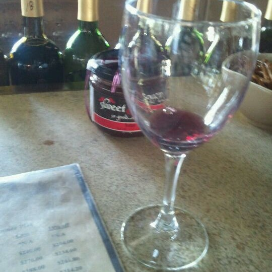 Photo taken at The Winery at Holy Cross Abbey by Sarah K. on 9/19/2011