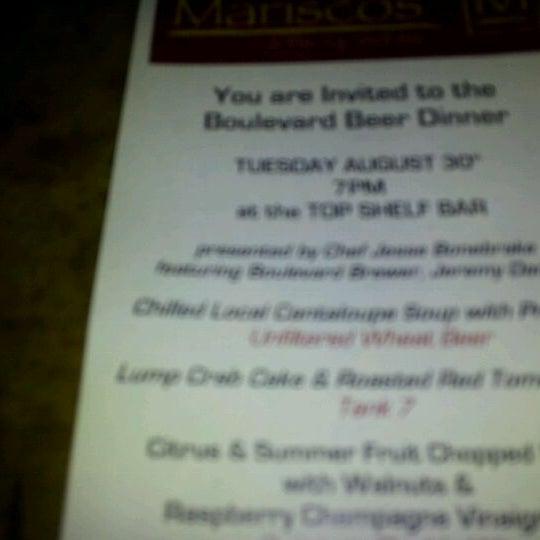 Photo taken at Mariscos Restaurant by Evan B. on 8/17/2011