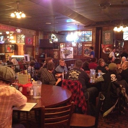Photo taken at Manuel's Tavern by Josh S. on 2/29/2012