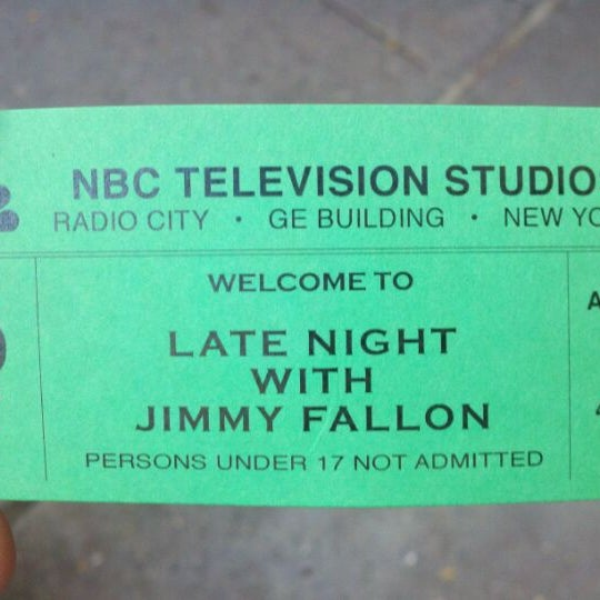 Photo taken at Late Night with Jimmy Fallon by Rj S. on 8/29/2011