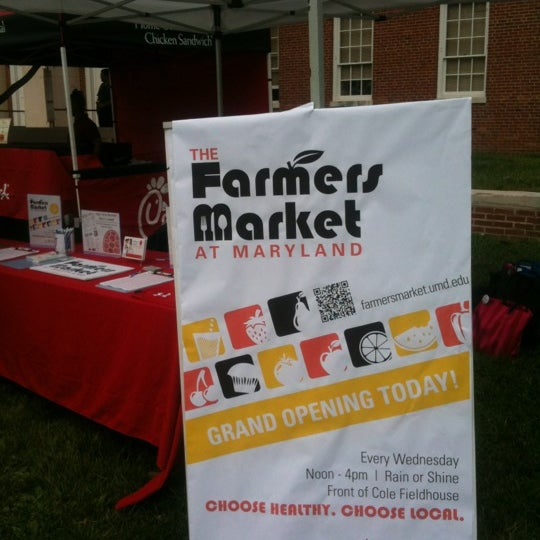 Photo taken at The Farmers Market at Maryland by Kate M. on 5/2/2012