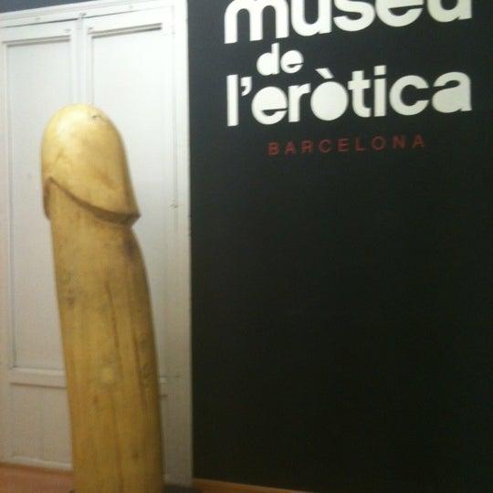 Foto tomada en Museu de l'Eròtica por Oscar F. el 10/20/2011
