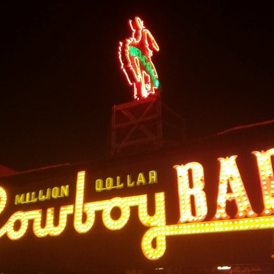 Photo taken at Million Dollar Cowboy Bar by Kutcher M. on 2/15/2012