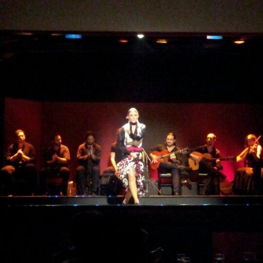 Photo taken at Palacio del Flamenco by Olya S. on 9/11/2012
