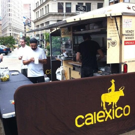 Photo taken at Calexico Cart by Ben O. on 6/13/2012