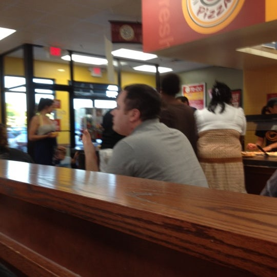 Photo taken at Cicis by Mike B. on 6/8/2012