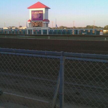 Photo taken at Prairie Meadows by Kaylena D. on 9/11/2011