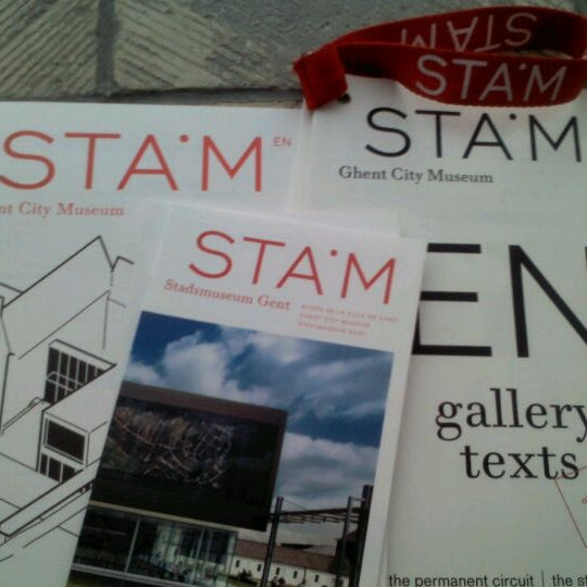 Photo taken at Stadsmuseum | STAM by Maria M. on 3/9/2012