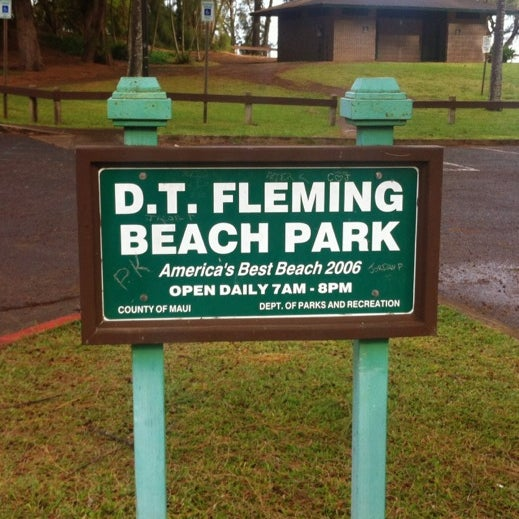 Photo taken at D.T. Fleming Beach Park by DomT on 2/29/2012
